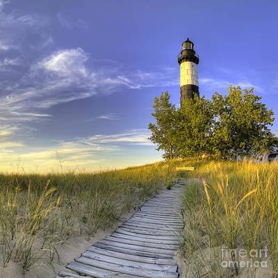 Big Sable Lighthouse Poster