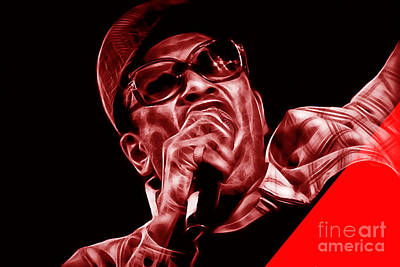 Bobby Womack Collection Poster by Marvin Blaine
