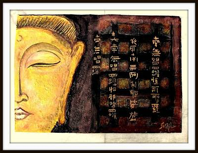 Budha  Poster by Times Art