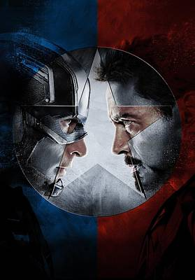 Captain America Civil War 2016 Poster by Unknown