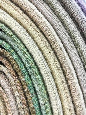 Carpet Colours Poster by Tom Gowanlock