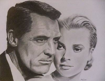 Cary Grant And Grace Kelly Poster