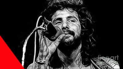 Cat Stevens Collection Poster by Marvin Blaine