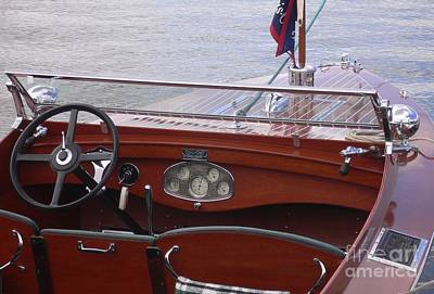 Chris Craft Runabout Poster