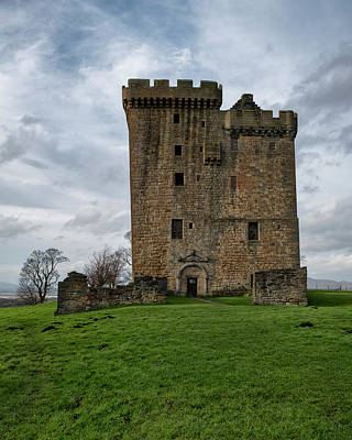 Poster featuring the photograph Clackmannan Tower by Jeremy Lavender Photography