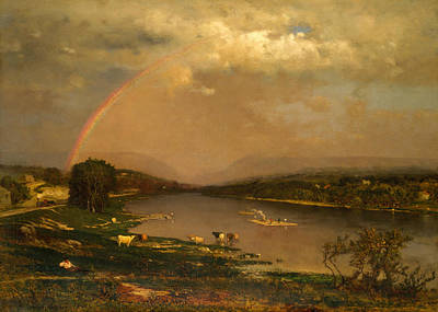Delaware Water Gap Poster by George Inness