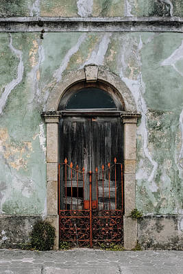 Poster featuring the photograph Door With No Number by Marco Oliveira