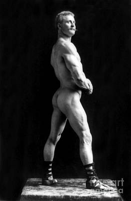 Eugen Sandow, Father Of Modern Poster by Science Source