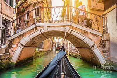 Exploring Venice Poster by JR Photography