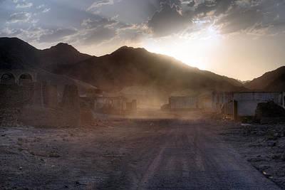 ghost city Umm el Howeitat - Egypt Poster by Joana Kruse