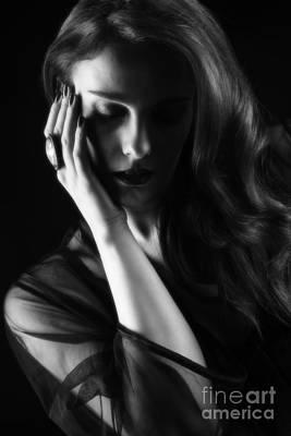 Glamorous Woman Poster by Amanda Elwell