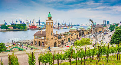 Hamburg Poster by JR Photography