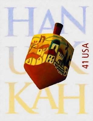 Hanukkah Poster by Lanjee Chee