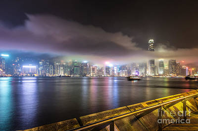 Hong Kong Stunning Skyline Poster