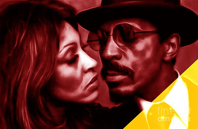 Ike And Tina Turner Collection Poster