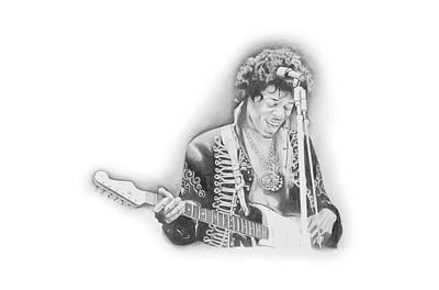 Jimi Hendrix  Poster by Don Medina