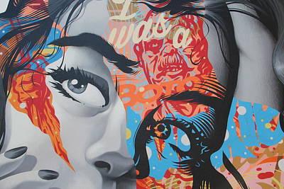 La Street Art Poster