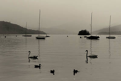 Lake Windermere Poster by Martin Newman