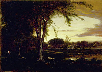 Landscape Poster by George Inness