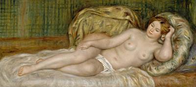 Large Nude Poster by Pierre-Auguste Renoir