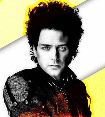 Lindsey Buckingham Collection Poster by Marvin Blaine
