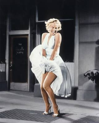 Marilyn Monroe Poster by American School