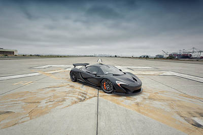 Poster featuring the photograph #mclaren #mso #p1 by ItzKirb Photography