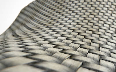 Micro Fabric Weave Dirty Poster by Allan Swart
