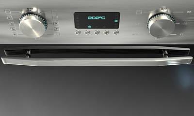 Modern Oven Closeups Poster by Allan Swart