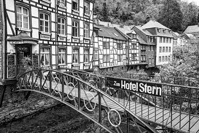 Monschau In Germany Poster by Jeremy Lavender Photography