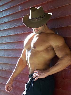 Muscle Art America Marius Poster