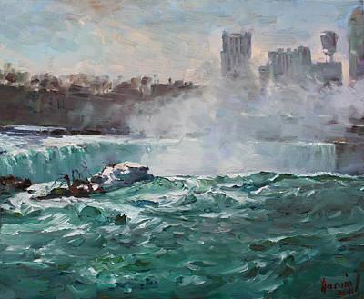 Niagara Falls Poster by Ylli Haruni