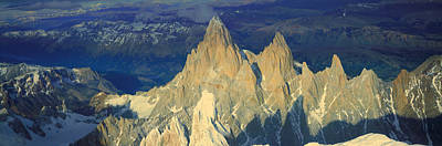 Panoramic Aerial View At 3400 Meters Poster by Panoramic Images