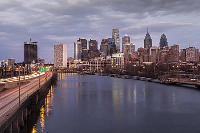 Philadelphia Skyline Poster by Richard Nowitz