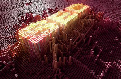 Pixel Seo Concept Poster by Allan Swart