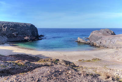 Playa Papagayo - Lanzarote Poster