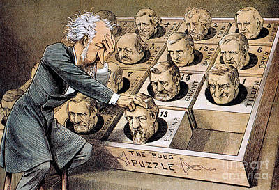 Presidential Campaign, 1880 Poster by Granger