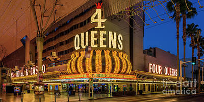 4 Queens Casino Entrance Poster by Aloha Art