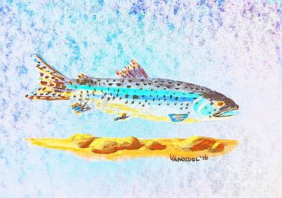 Rainbow Trout Poster by Scott D Van Osdol
