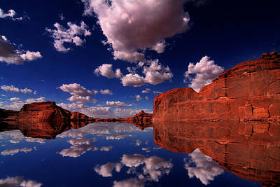 Redrock Reflections Poster by Mark Smith