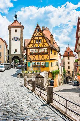 Rothenburg Ob Der Tauber Poster