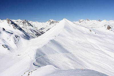 Serre Chevalier In The French Alps Poster