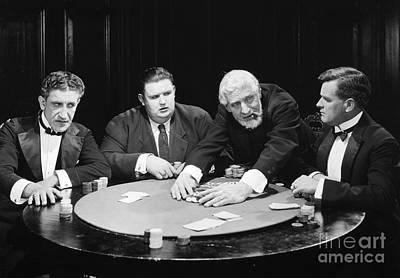 Silent Film Still: Gambling Poster by Granger
