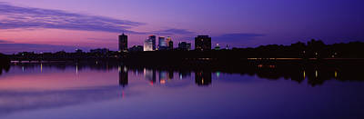 Silhouette Of Buildings Poster by Panoramic Images