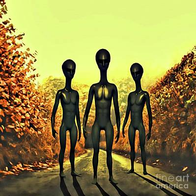 The Alien Conspiracy Poster