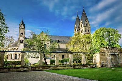 The Basilica St Kastor - Koblenz - Germany Poster by Jon Berghoff