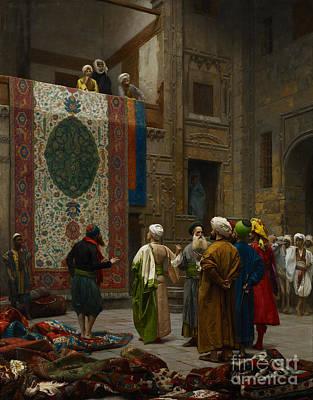 The Carpet Merchant Poster