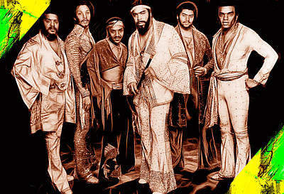 The Isley Brothers Collection Poster by Marvin Blaine