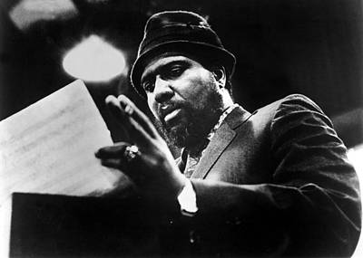 Thelonius Monk 1917-1982jazz Pianist Poster