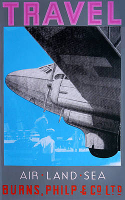 Travel Air Land Sea Poster by David Studwell